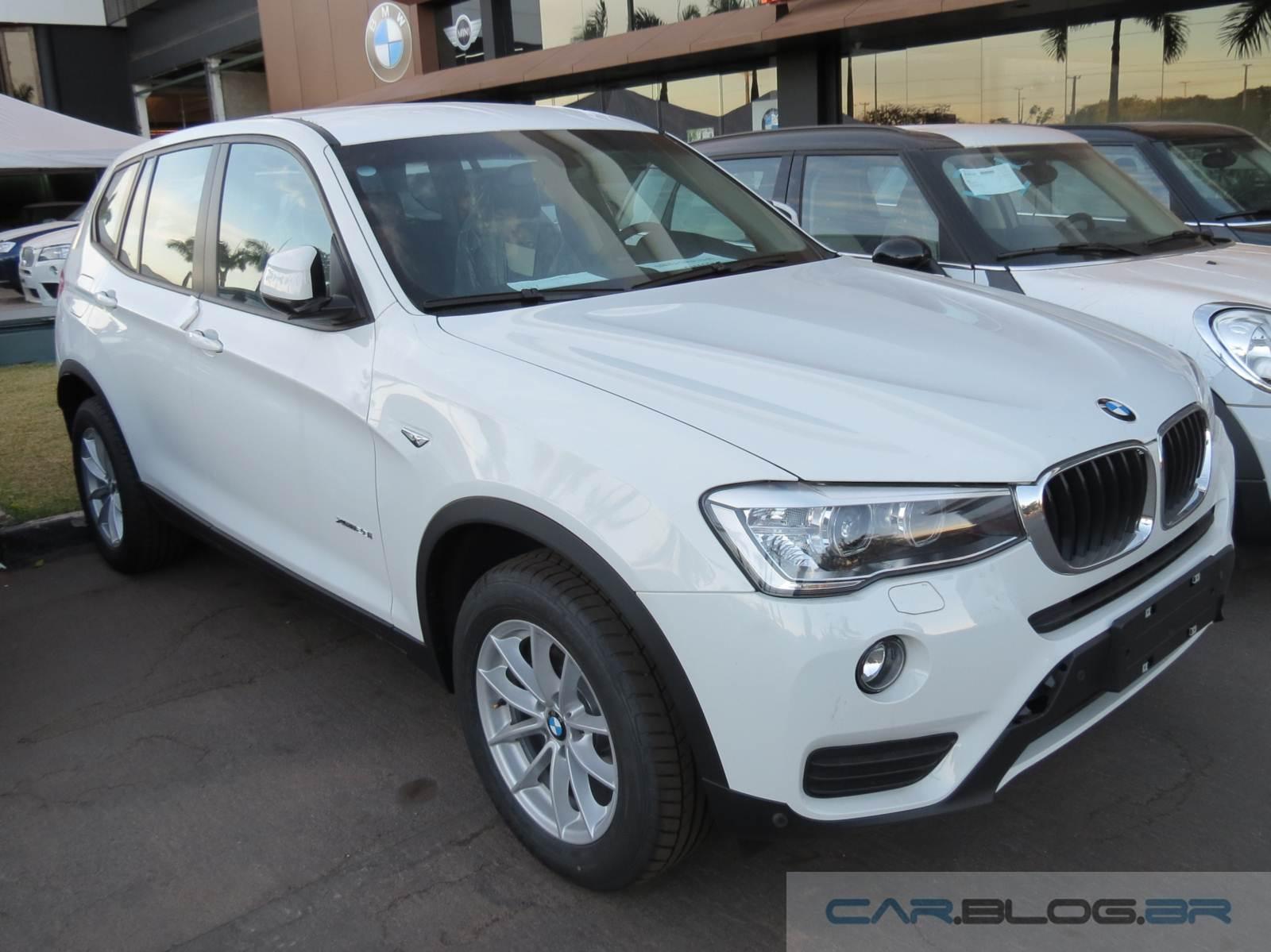Novo BMW X3 2017 - aumento de preços
