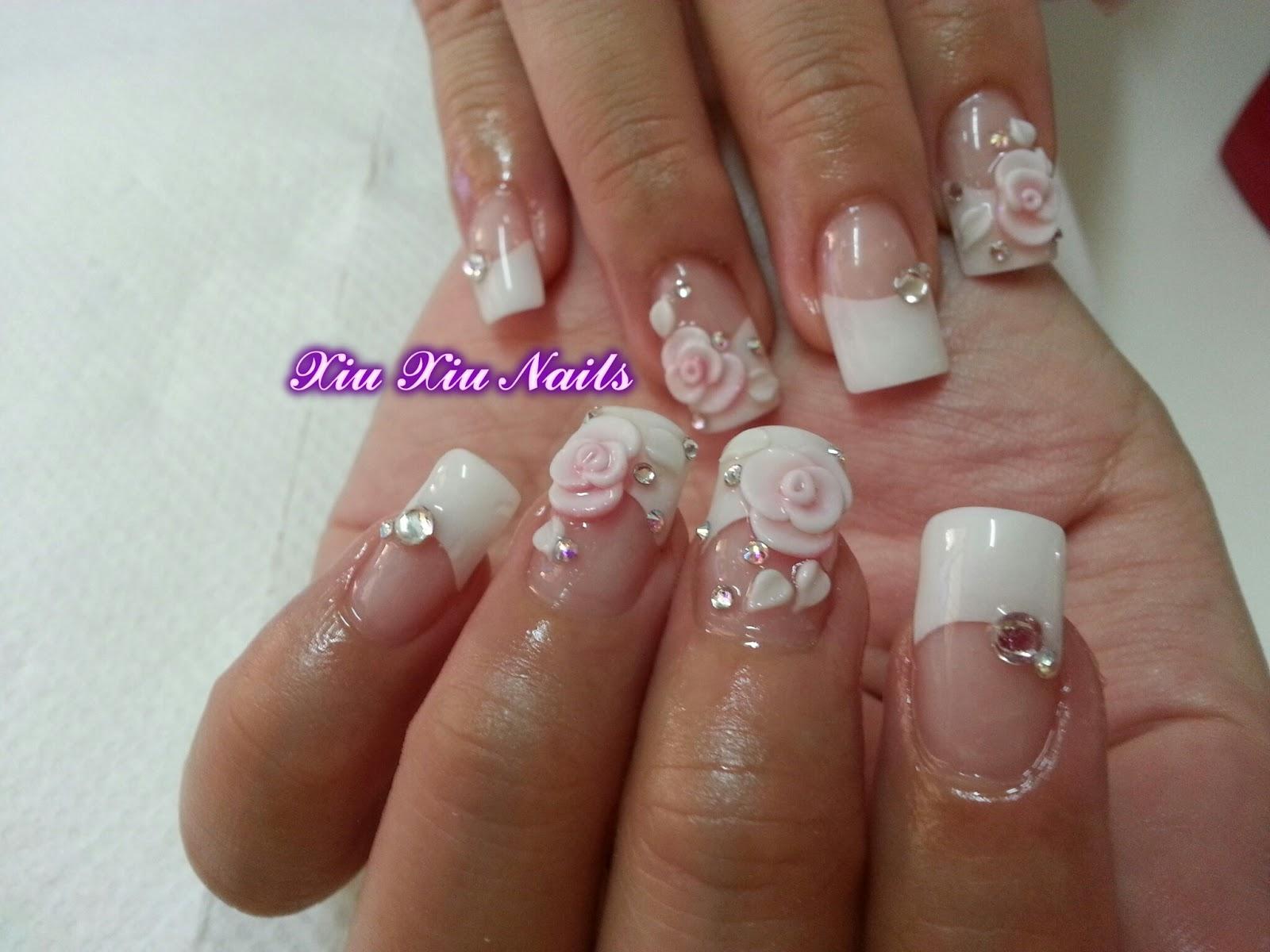 Xiu xiu nails: Bridal Nails