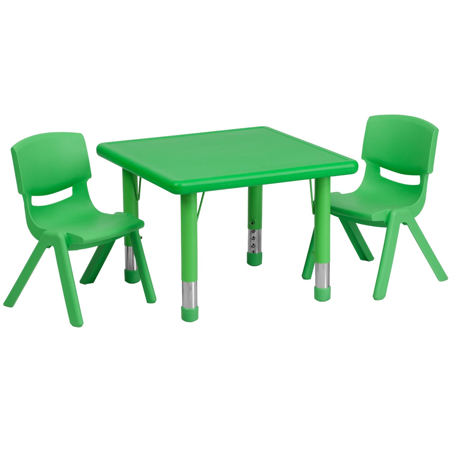 Total fab children 39 s plastic table and chair sets for Table and chair set