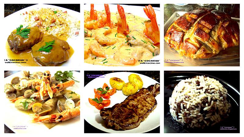 Recetas para Navidad: guarnicones, pescados-mariscos y carnes
