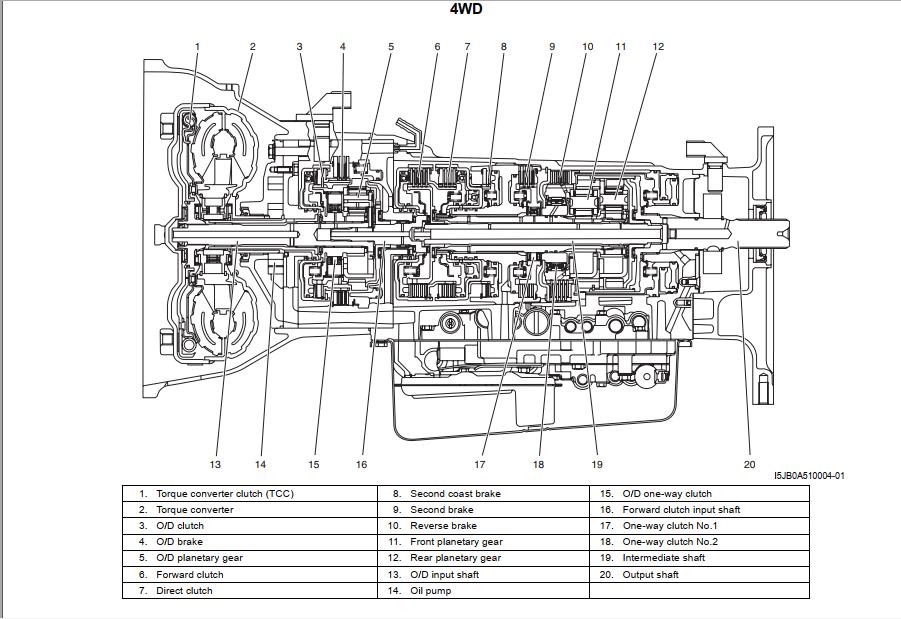 Suzuki Grand Vitara  M16a  U0026 J20a Engines  2005 - 2008 Workshop Manual