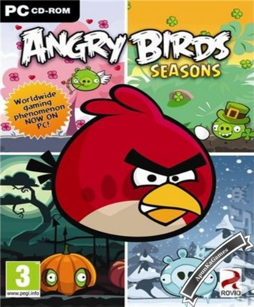 Angry Birds Seasons Cover, Poster