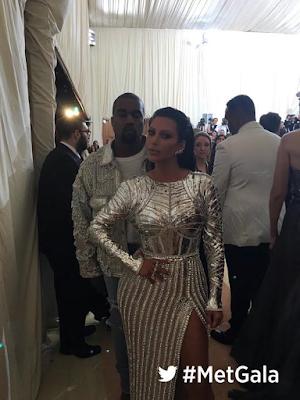 Kimye arrive the MET Gala 2016 Red Carpet in grand style