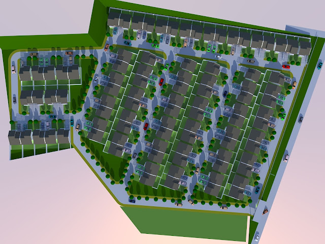 site plan cluster