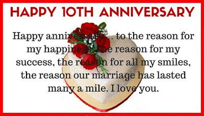 10th happy wedding anniversary wishes messages quotes wedding 10 year anniversary wishes messages for friend m4hsunfo