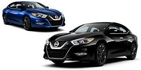 Midnight Edition Nissan Maxima 2016
