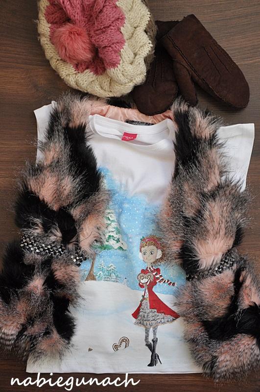 Koszulka z dziewczynką
