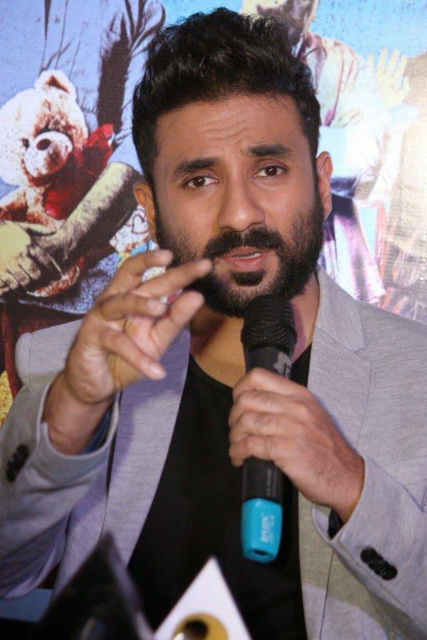 Vir Das at Revolver Rani Press Conference