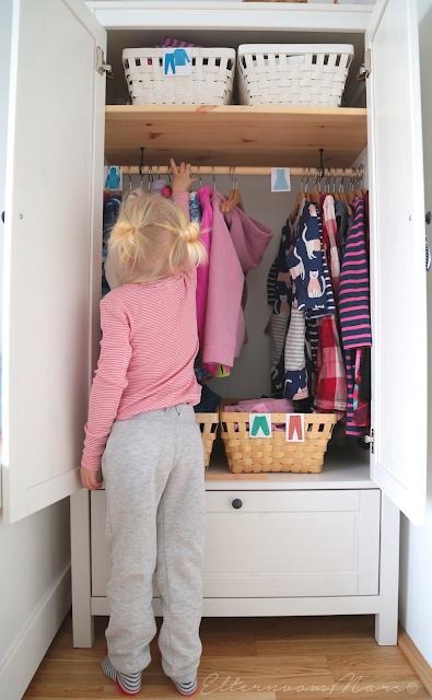 Praktische Kleiderschränke Im Kinderzimmer Nach Montessori Eltern