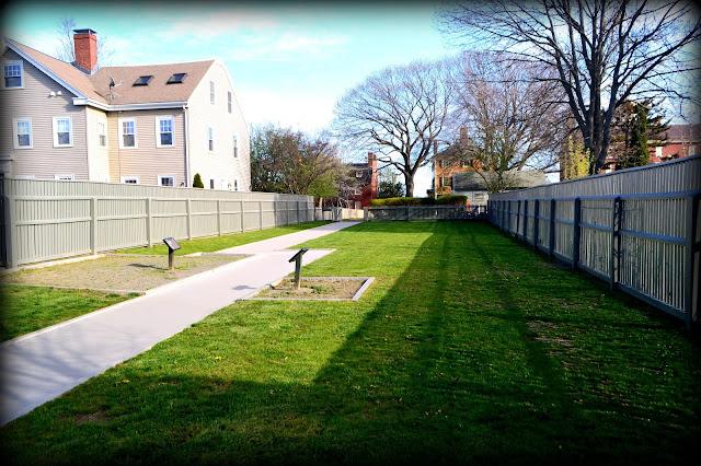 Salem National Maritime Historic Site, Salem, Massachusetts, nps, shadows