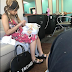Cardi B spotted out for the first time in a salon since welcoming her child