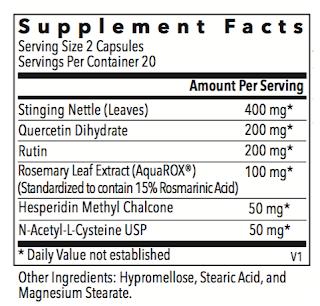 Allurtica Supplement Facts