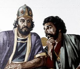 Absalão e Husai