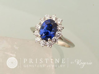 Kate Middleton Blue Sapphire Engagement Ring, Kate Middleton, Blue Sapphire, Wedding Ring, Bridal Ring