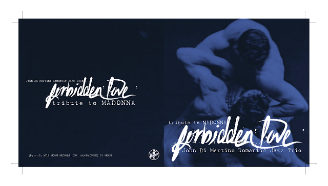 Forbidden Love - tribute to Madonna Front & Back Booklet by MPAP 2016