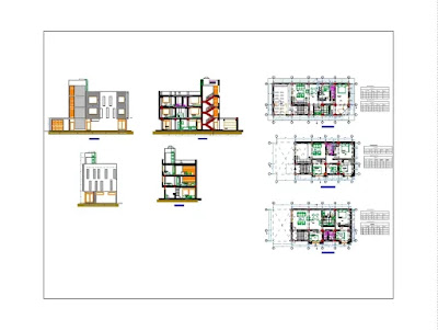 Three level house