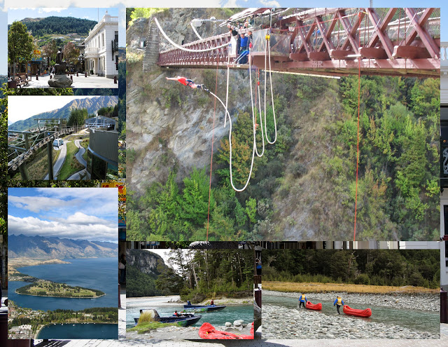 Bungee jumping and other adventure sports in New Zealand