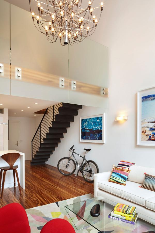 Die Wohngalerie Geschickt Und Minimalistisch Eingerichtet