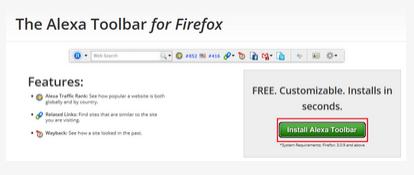 Cara Mudah Memasang Alexa Toolbar Di Firefox Dan Chrome