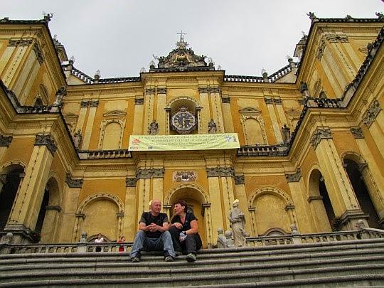 Front Sanktuarium Matki Bożej Wambierzyckiej Królowej Rodzin.