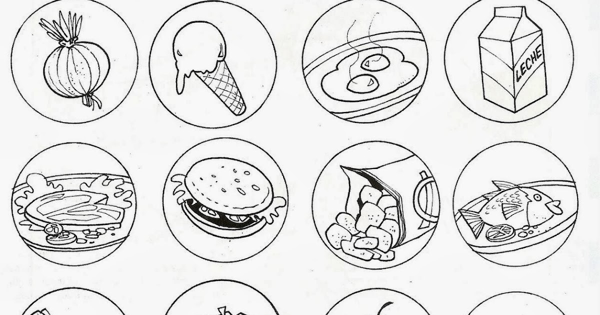 Te Cuento Un Cuento Alimentos Saludables Y Alimentos Chatarra Para