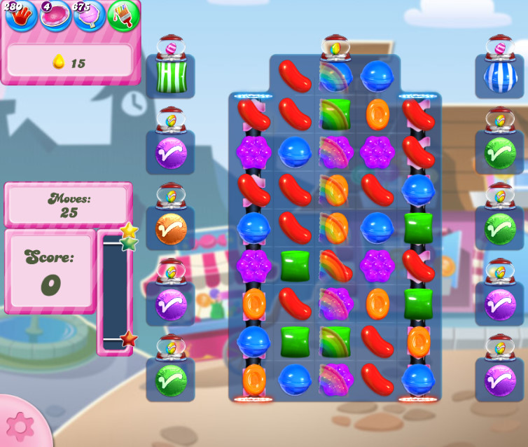 Candy Crush Saga level 2727
