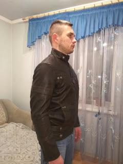 Jaqueta de Couro PU Masculina com Forro e Zíper - Estilo Motoqueiro