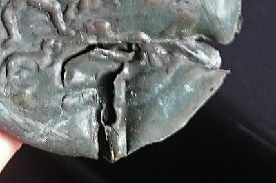 fiasca portapolvere porta polvere da sparo avancarica restauro