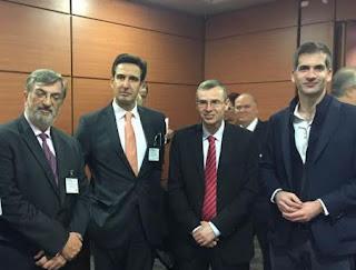 Με τον Υπουργό Τουρισμού του Ισραήλ συναντήθηκε ο Μπακογιάννης