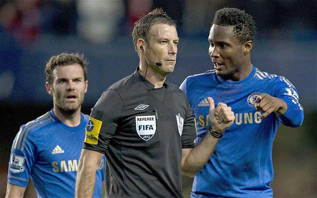 Referee Mark Clattenburg blasts Mikel Obi over monkey allegations