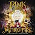 """P!nk muestra el Lyric Video de """"Just Like Fire"""", su nuevo single para la banda sonora de """"Alicia a través del espejo"""""""