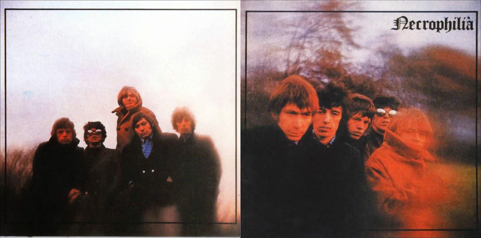 RELIQUARY: Rolling Stones - Necrophilia (The Unreleased