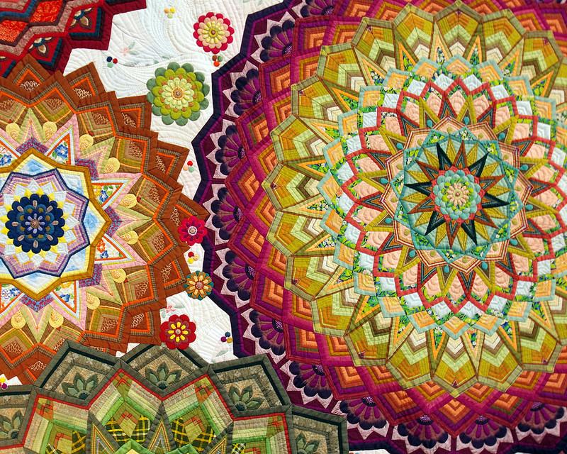 Tokyo Quilt Festival 2018 | 眞田雅子* Masako Sanada - First Prize Quilt | © Red Pepper Quilts