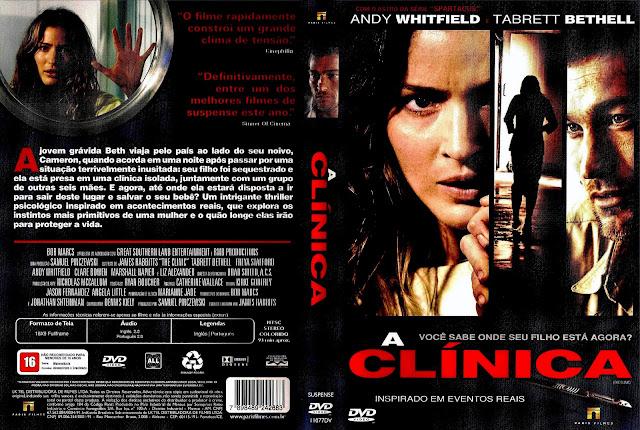 Capa DVD A Clínica