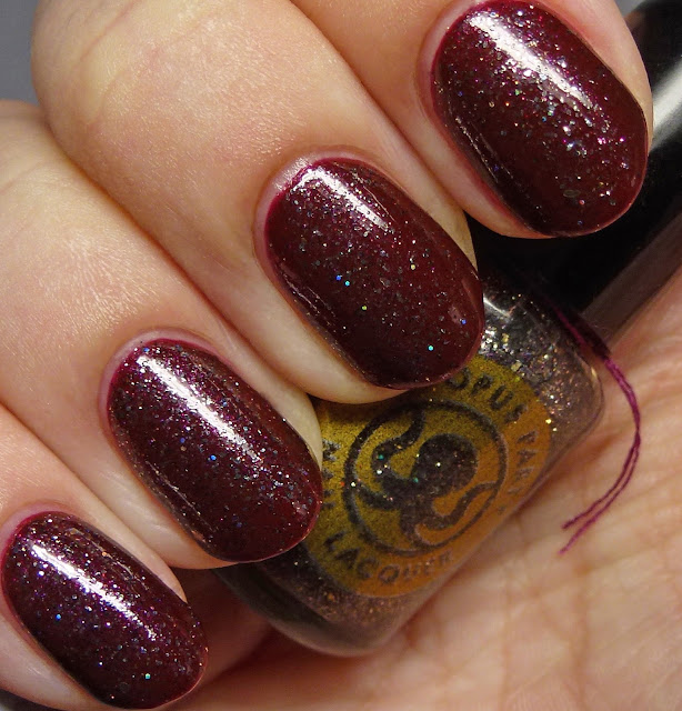 Octopus Party Nail Lacquer Fenrir over But Not in Vein