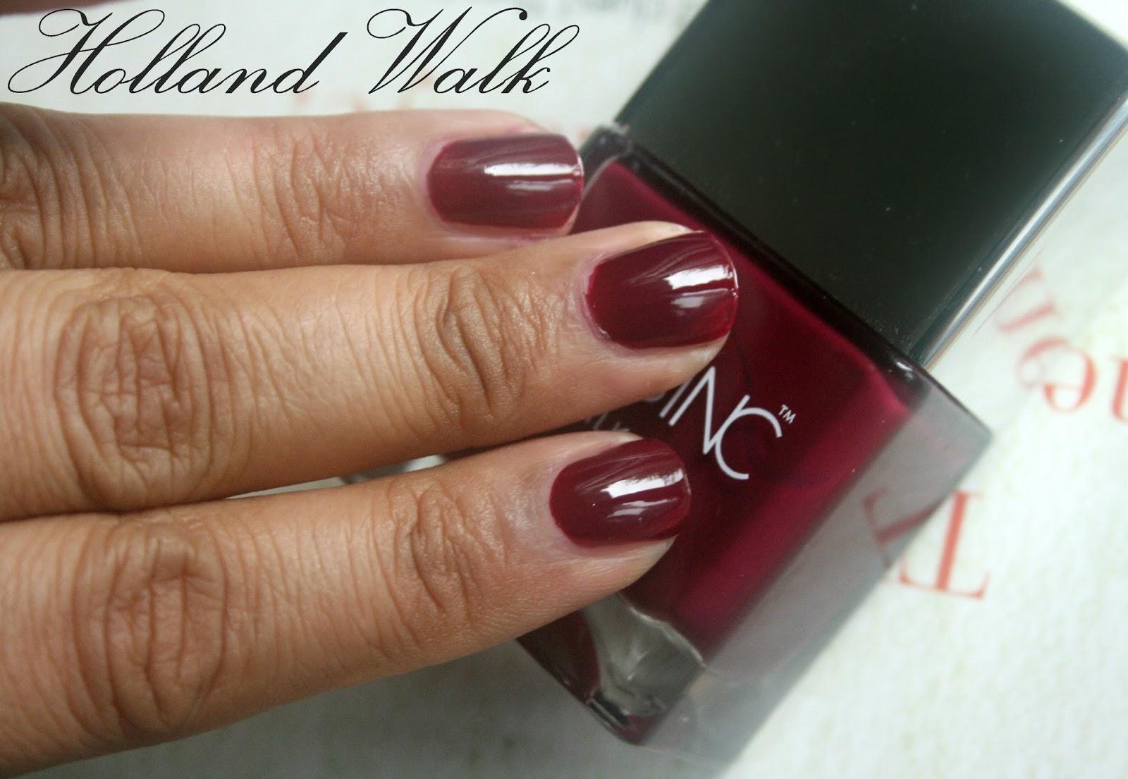 Nails Inc. Nailkale Holland Walk Review, Photos & Swatches