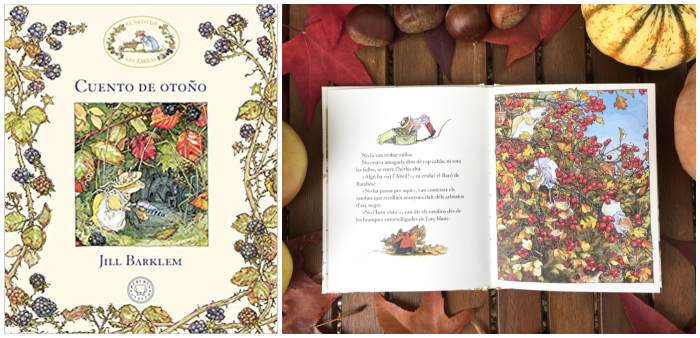 Cuentos libros infantiles sobre la estación del otoño, cuento de otoño Jill Barklem