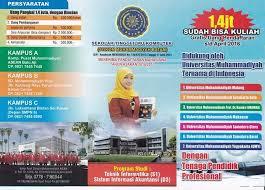 http://ilmukomputerzarmi.blogspot.co.id/2016/09/stikom-muhammadiyah-batam-tawarkan.html
