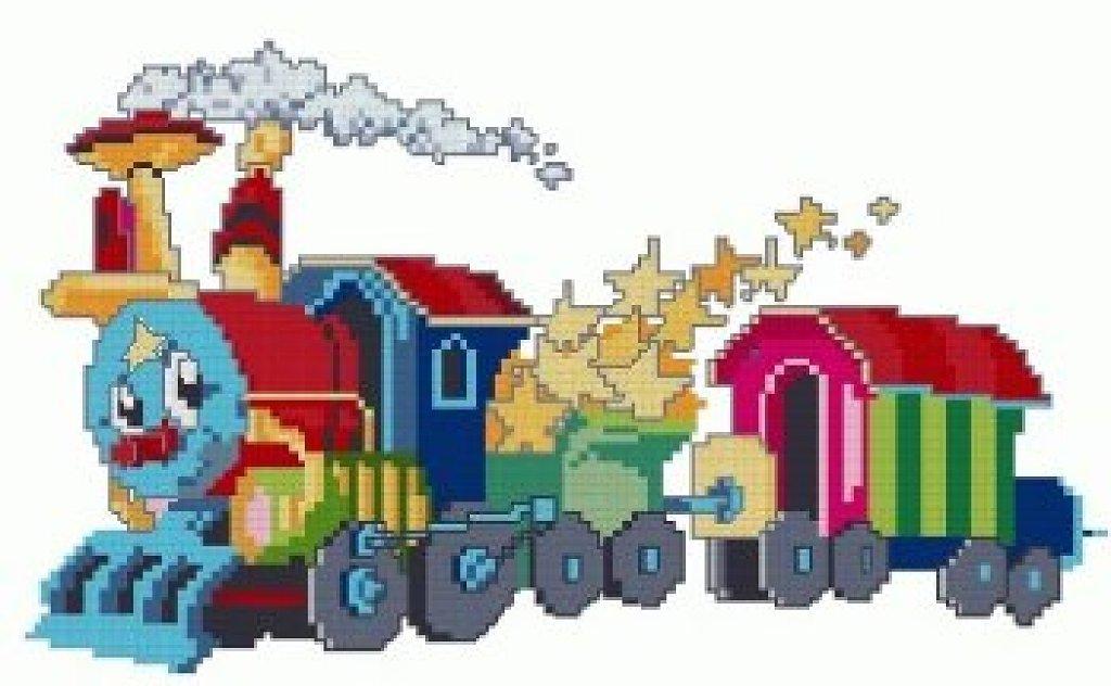 GRAFICOS PUNTO DE CRUZ GRATIS : CUADRO INFANTILES (58)