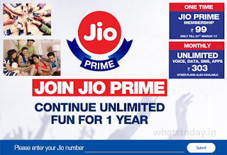 Jio Prime Plans & Benefits, Jio Offers