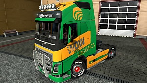 Volvo 2012 WOW Logistics skin mod