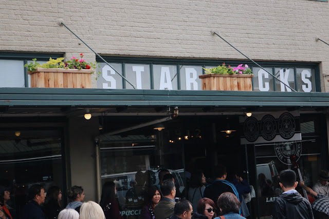 Original Starbucks in Pike Place in Seattle