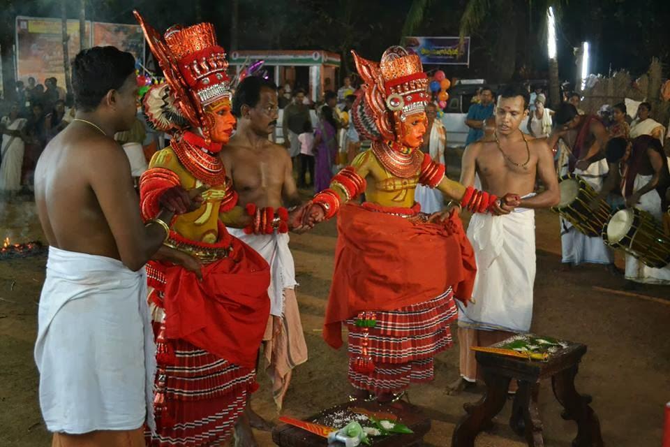 keezhara koolom bhagavati temple, keezhara koolom festival