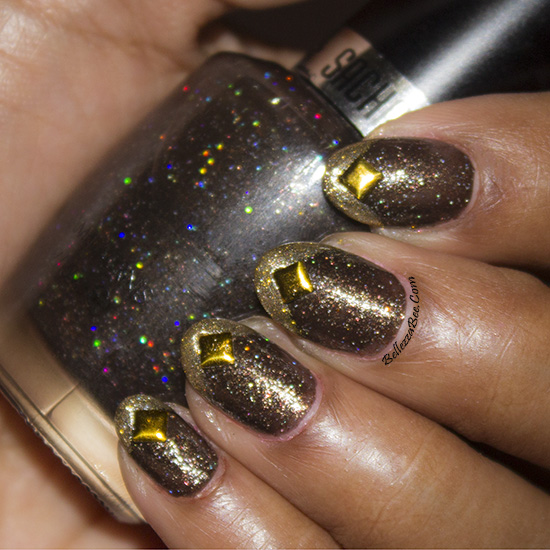 Funky French Bcd Nail Art Challenge Day 3