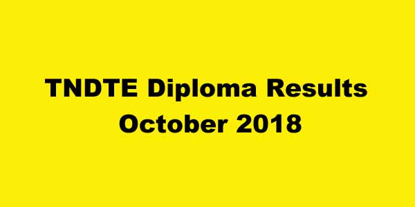 DOTE Diploma Results October 2018