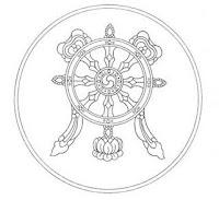 rueda budismo significado simbolo