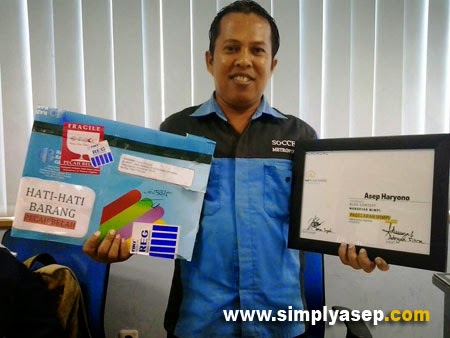 Juara II Nasional Lomba Blog  Mimpi Properti, Bulan September 2014.