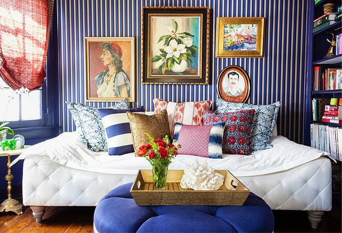 Mix And Chic: Home Tour- A Bright, Bold And Beautiful Los