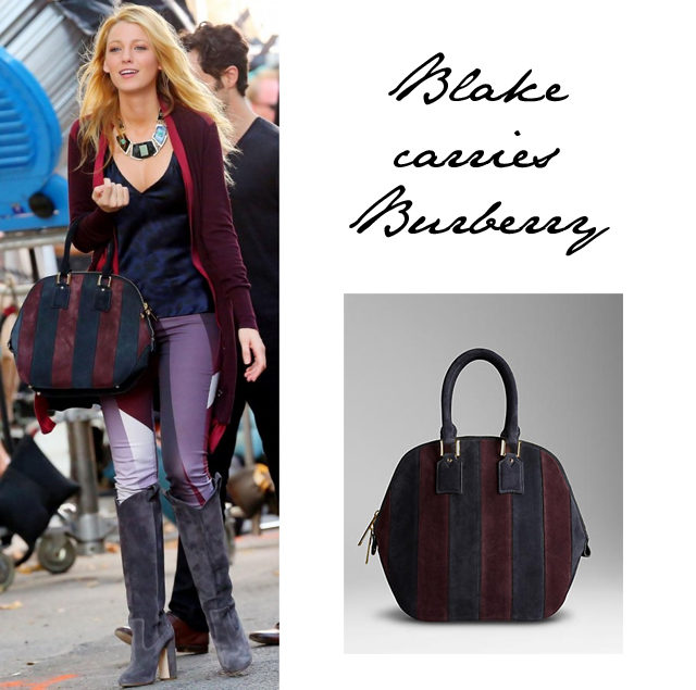 Blake Lively Burberry Bag