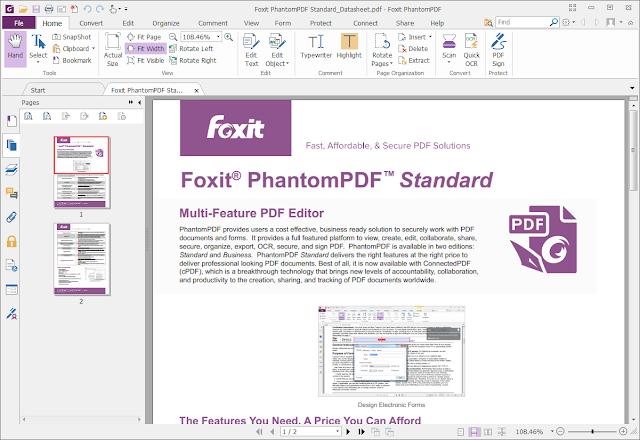 download foxit reader full business crack gratis 2018